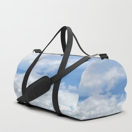 Soft Heavenly Clouds Duffle Bag