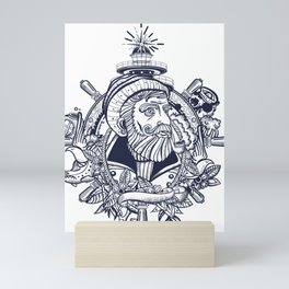 Seawolf Mini Art Print