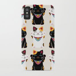 Maneki Neko - Lucky Cats iPhone Case
