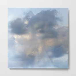 Abstract clouds Metal Print