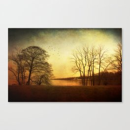 Autumn fever Canvas Print