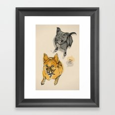 Stuey & Griffin Framed Art Print