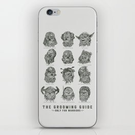 The Grooming Guide iPhone Skin