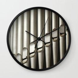 Pipes Wall Clock