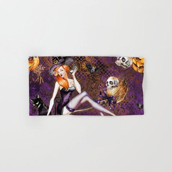Halloween Witch #1 Hand & Bath Towel