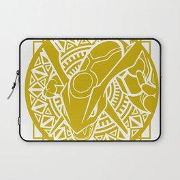 Stained Glass - Pokémon - Rayquaza Laptop Sleeve
