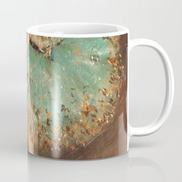 The Green Dancer 1879 By Edgar Degas | Reproduction | Famous French Painter Coffee Mug