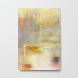 Mist on the Thames Metal Print