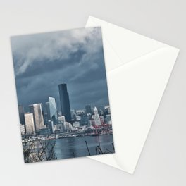Seattle's shades of gray Stationery Cards