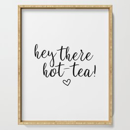 Hot-tea Quote Serving Tray