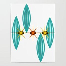Mid-Century Modern Art 1.5 Poster