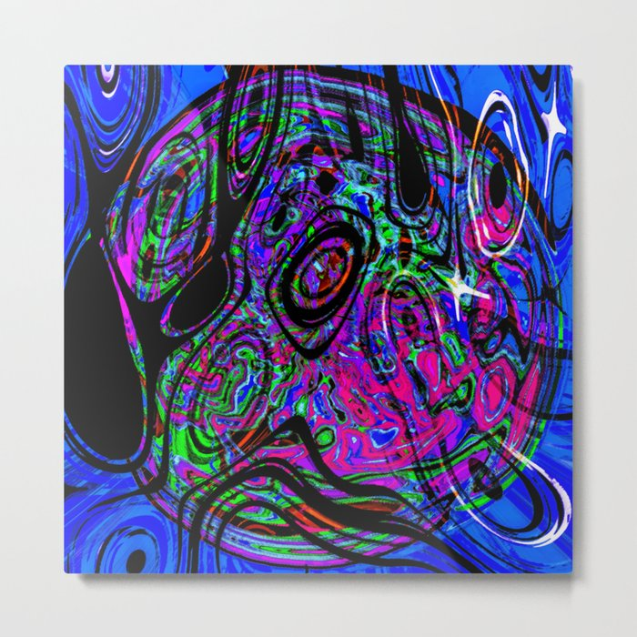Psychedelic Universe Metal Print