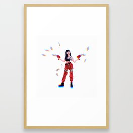 Red Velvet Seulgi Framed Art Print