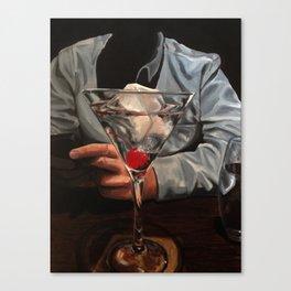 One Chocolate Martini Canvas Print