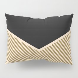 Geometric in line Pillow Sham