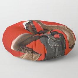Guitar & Sexy Legs Floor Pillow