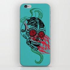 Skull and Snake iPhone & iPod Skin