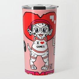 Gamer Girl furBag Travel Mug