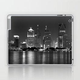 Cityscape (Black & White) Laptop & iPad Skin