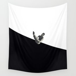 Diver (black) Wall Tapestry