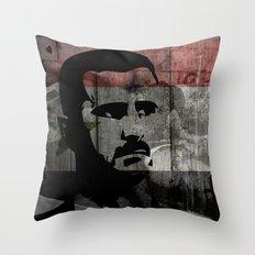 Heads of State: Bashar al-Assad Throw Pillow