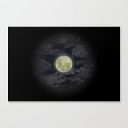 In Love With The Moon Canvas Print