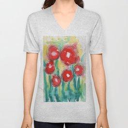 Poppy paradise Unisex V-Neck