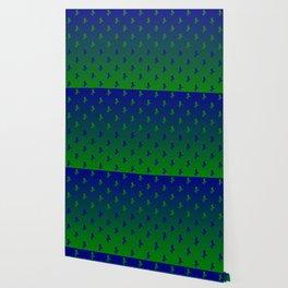 Mermaid cool pattern Wallpaper