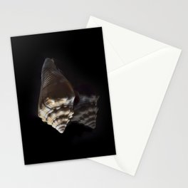 Spiral Sea Shell Stationery Cards