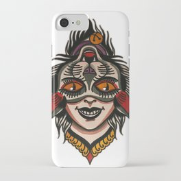 flip cat iPhone Case