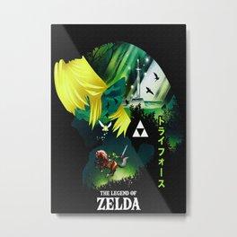 The Legend of Zelda stricker Metal Print
