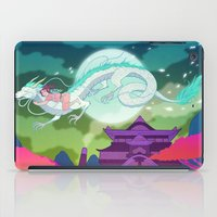 spirited away iPad Cases featuring Spirited Away by Jen Bartel