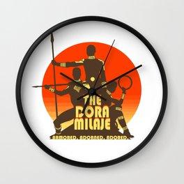 Dora Milaje Wall Clock