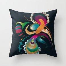 Organic 4 Throw Pillow