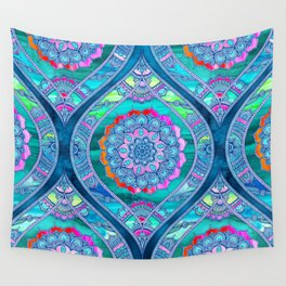 Radiant Boho Color Play Wall Tapestry