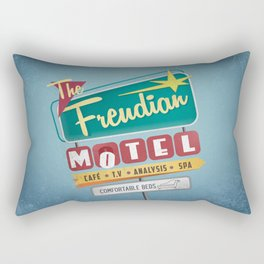 Vintage Motel Rectangular Pillow