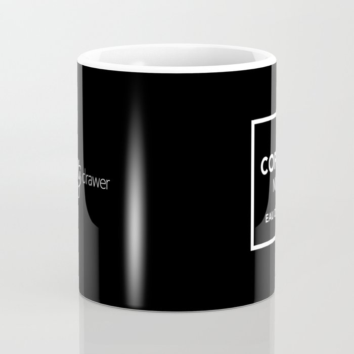 Black Coffee No5 Coffee Mug