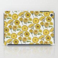 Calendula Florals iPad Case