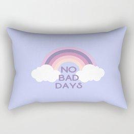 No bad days Pastel rainbow Rectangular Pillow