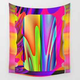 A modern frame ... Wall Tapestry