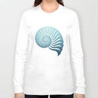 random Long Sleeve T-shirts featuring Random by Carl Christensen
