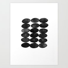 Ovals Art Print