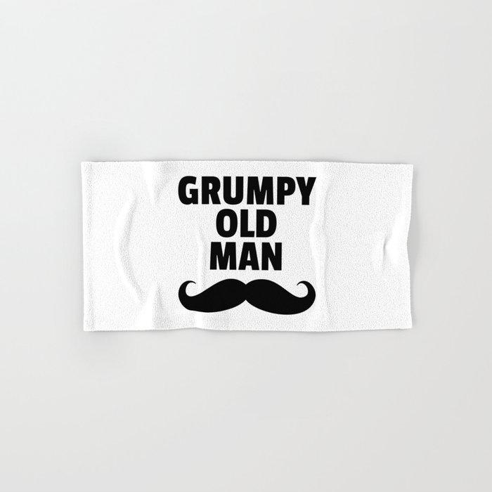 Grumpy Old Man Funny Quote Hand & Bath Towel