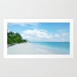 Ocean Paradise Art Print