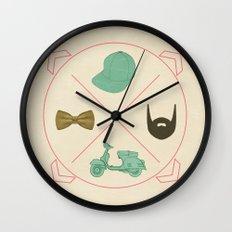 my vision della dolce vita  Wall Clock