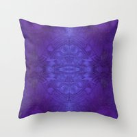 voyage Throw Pillows featuring Voyage by Soulive Design