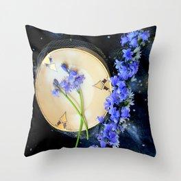 The Bluebells And Gold Fleet Throw Pillow