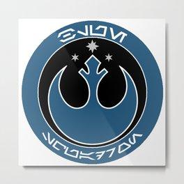 Blue Squadron (Resistance) Metal Print