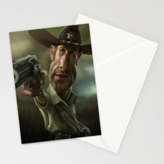Rick Grimes from 'The Walking Dead'. Stationery Cards