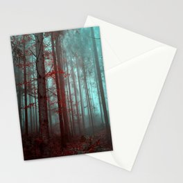 Mysterious Forest Stationery Cards